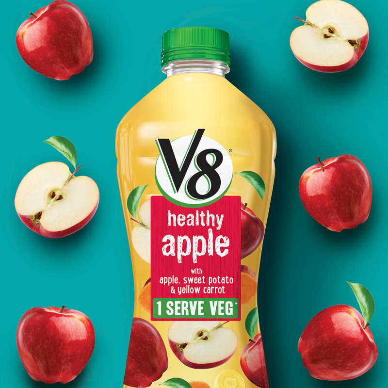 Energi Design Packaging V8 Apple