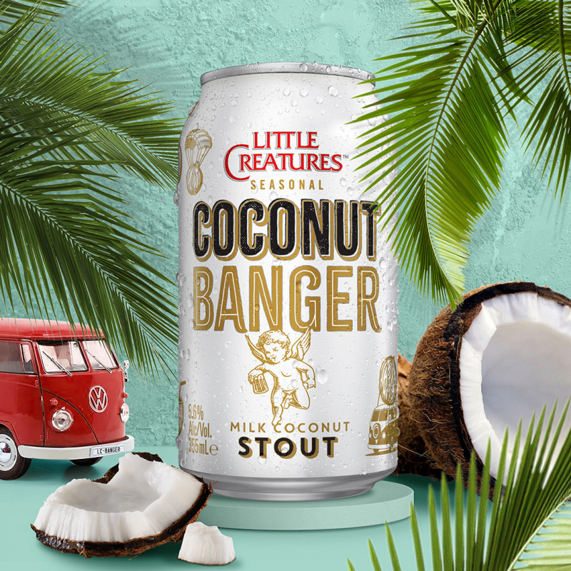 Little Creatures Coconut Banger Craft Beer