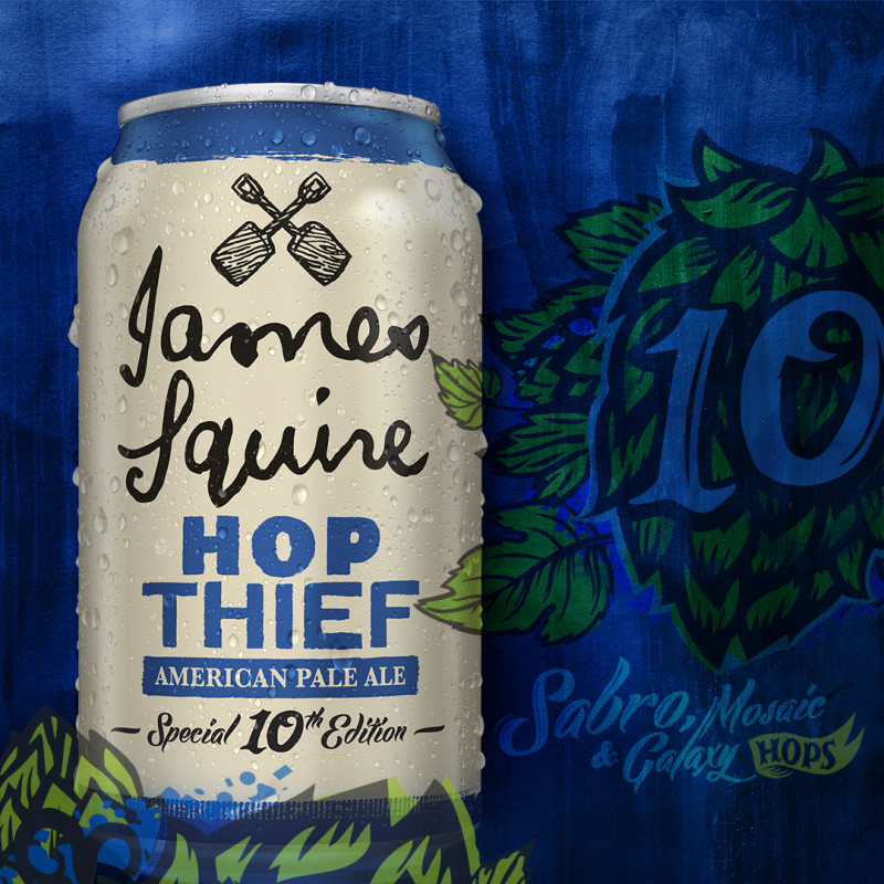 Energi Design-Packaging-James Squire-Hop Thief 10-Craft Beer